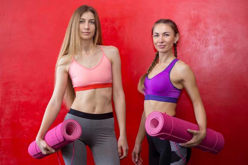 Gummimatten Fitness