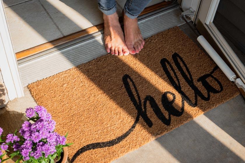 Fußmatte personalisiert - das solltest Du wissen!