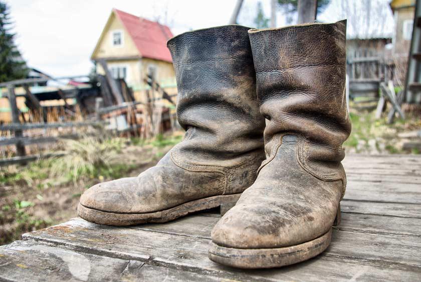 Bei sehr dreckigen Schuhen sind Schuhabstreifer sehr wichtig
